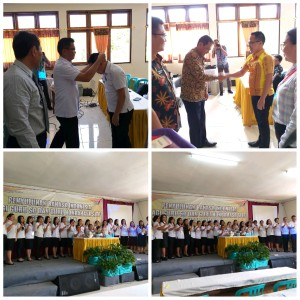 Penyuluhan tentang bagaimana berbahasa Indonesia yang baik dan benar kepada guru-guru