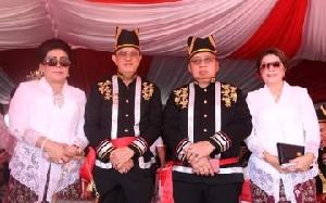 Hadiri HUT Provinsi Sulut ke-55, ROR – RD : Ditangan Dondokambey – Kandouw, Sulut Tuai Banyak Prestasi