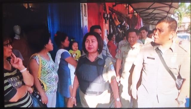 Pol PP Kota Manado Tertibkan Kembali Pedagang di Pusat Kota