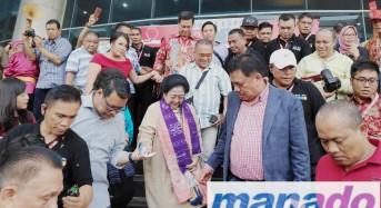 Presiden ke-5 RI Megawati Soekarnoputri Kunjungi Sulut Expo 2019
