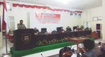 James Sumendap Sampaikan Pesan Khusus Kepada Anggota DPRD Mitra Periode 2014-2019