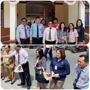 Kabupaten Mitra Utus SD N Ratahan Dan SMP 6 Ratahan Pada Lomba Penilaian Sekolah Sehat se-Sulut