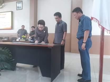 Lima Fraksi di DPRD Minsel Resmi Terbentuk