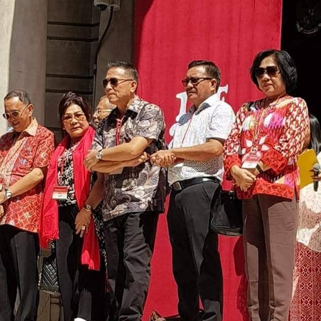Wali Kota Tomohon bersama Bupati Minahasa dan Wakil Wali Kota Bitung