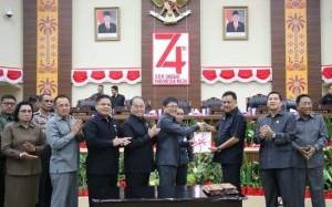 Eksekutif dan Legislatif Sulut Sepakati KUA PPAS 2020