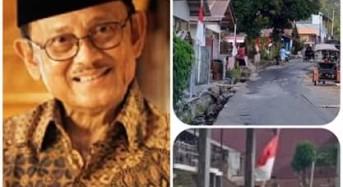 Pasang Bendera Setengah Tiang, Minahasa Tenggara Turut Berduka Atas Berpulangnya B.J Habibie