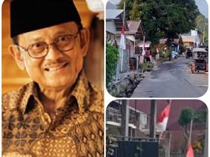 Pasang Bendera Setengah Tiang, Minahasa Tenggara Turut Berduka Atas Berpulangnya Presiden RI ke-3 B.J Habibie