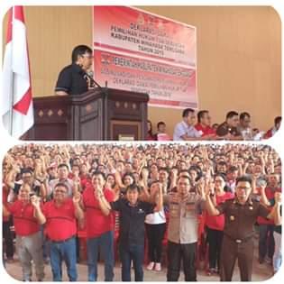 Pertama di Indonesia Bentuk Pengawas Pilhut, 275 Calon Hukum di Minahasa Tenggara Siap Bertarung