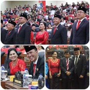 Resmi Dilantik, 45 Anggota DPRD Provinsi Sulut Siap Jalankan Amant Rakyat