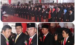 Resmi Dilantik, Bupati JS Harap 25 Anggota DPRD Mitra Periode 2019-2024 Jalankan Amanat Rakyat