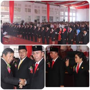 Resmi Dilantik, Bupati JS Berharap 25 Anggota DPRD Mitra Periode 2019-2024 Dapat Menjalankan Amanat Rakyat