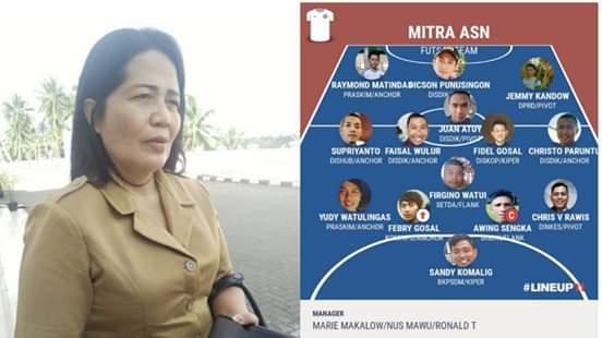 Sukseskan HUT ke-55 Provinsi Sulut, Tim Futsal ASN Mitra Siap Berikan Yang Terbaik