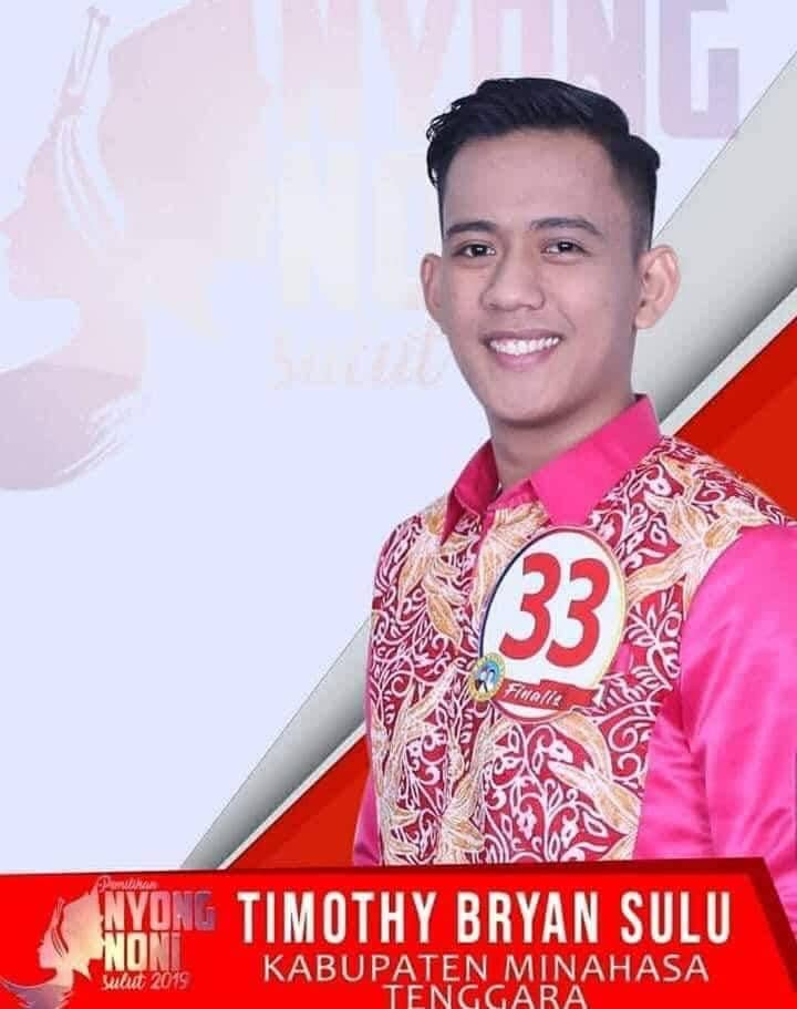 Timothy Bryan Sulu, Wakil I Nyong Sulut 2019 utusan Minahasa Tenggara