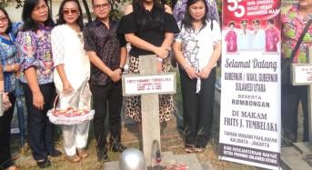 Sambut HUT ke-55 Provinsi Sulut, Pemprov Gelar Ziarah di TMP Kalibata