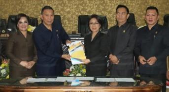 DPRD Tomohon Tetapkan APBD 2020