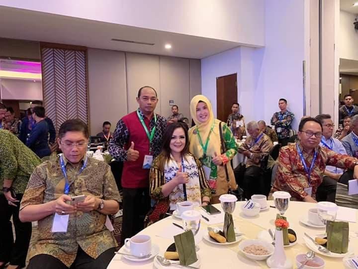 Wakil Wali Kota Tomohon menghadiri  City Sanitation Summit XIX AKKOPSI di Banjarmasin