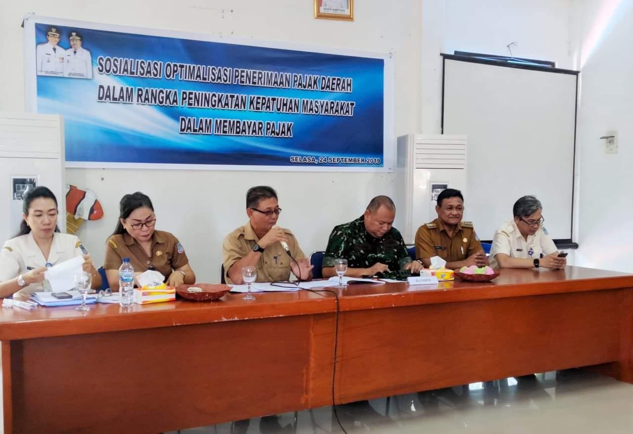 Bapenda Kota Manado Gelar Sosialisasi Optimalisasi Penerimaan Pajak di Kecamatan Sario