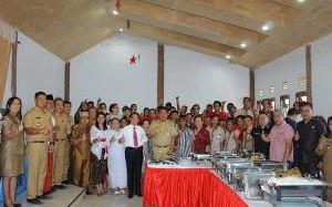 Wabup Minahasa Canangkan Desa Sadar Kerukunan di Desa Bukit Tinggi