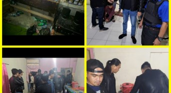 Hirup Eha Bond, Empat Remaja Tomohon Diamankan Tim URC Totosik