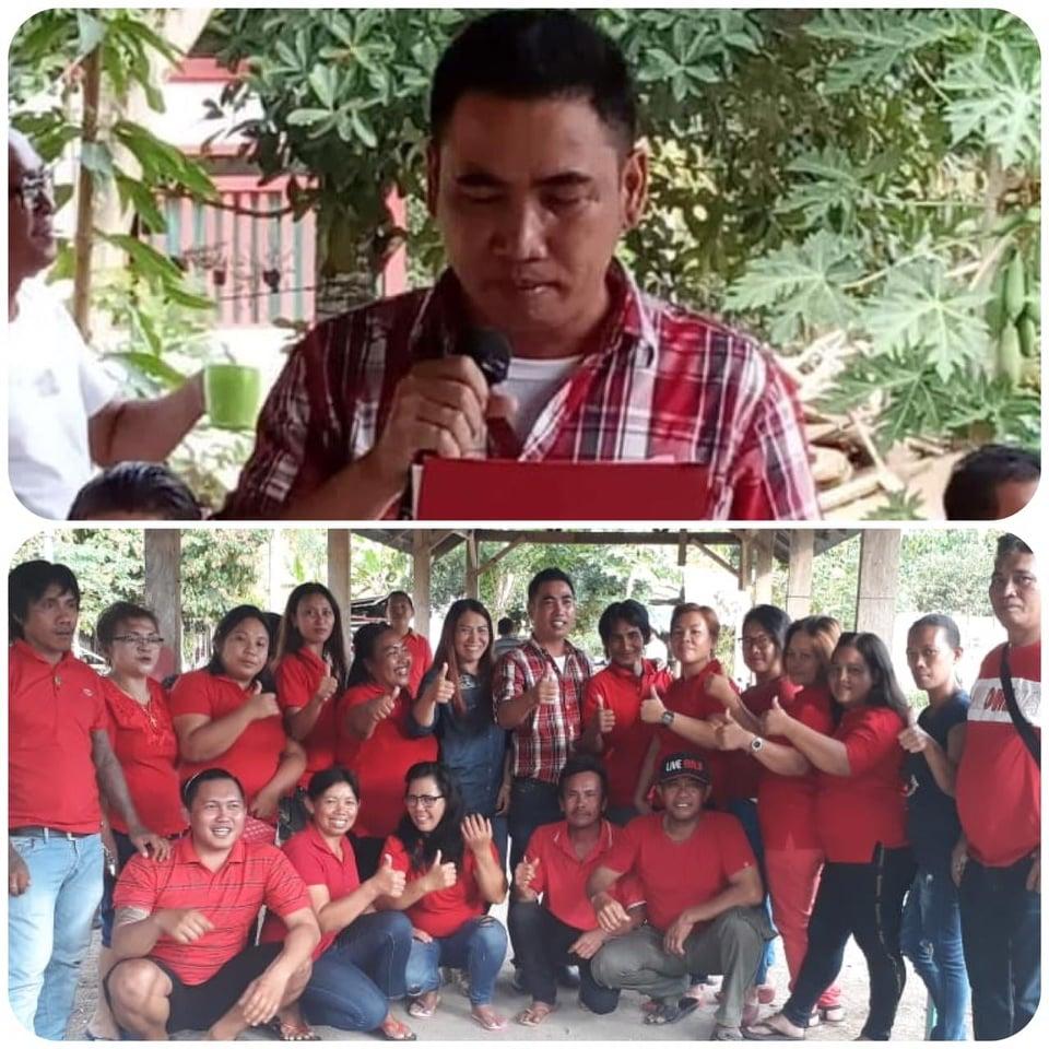 Franky Mandang, Calon Hukum Tua Desa Ratatotok Utara