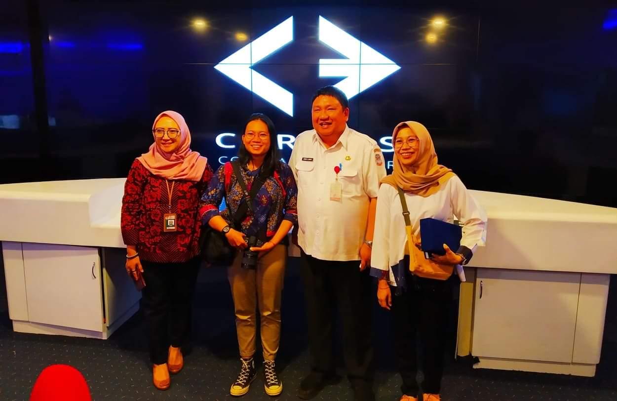 Kunjungi C3, KPK Harap Manado Jadi Leading Sector Keterbukaan Informasi Publik