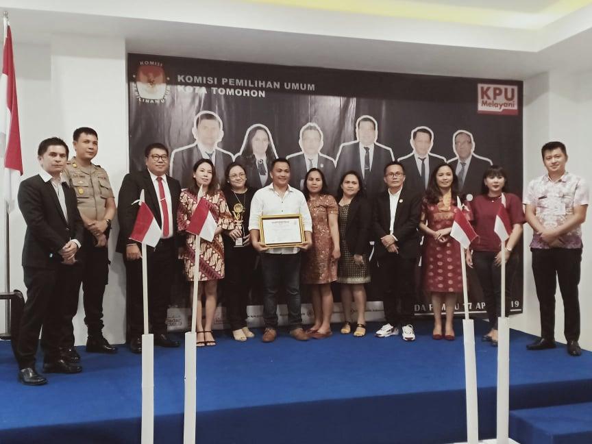 PPK Tomohon Tengah terpilih sebagai PPK terbaik