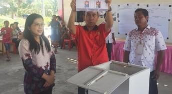 Ketua Sementara DPRD Mitra Pantau Pelaksanaan Pilhut