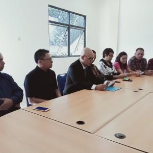 Konferensi pers Partai nasdem dan Hanura soal pembentukan Fraksi Restorasi Nurani di DPRD Tomohon