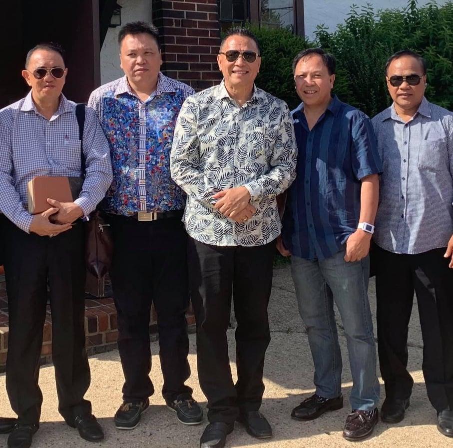Wali Kota Tomohon, Bupati Minahasa dan warga Tomohon di New York