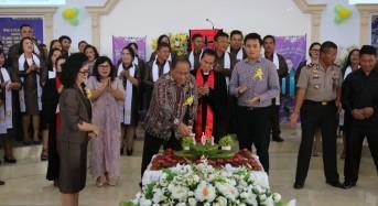 Jemaat GMIM Nafiri Pengolombian Peringati HUT ke-161