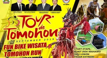 28 September, Tour de Tomohon Hentak Kota Bunga