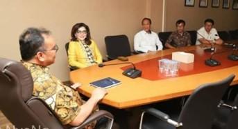 Bupati CEP Laporkan Penyerahan Sertifikat Untuk Rakyat ke Dirjen Kementerian Agraria