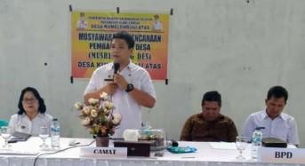 Desa Kumelembuai Atas Laksanakan Musrembang RKPDes 2020