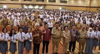 Gubernur Sulut Ajak Ribuan Siswa untuk Budayakan Menabung