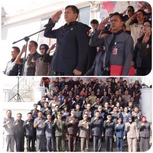 Upacara peringatan Hari Kesaktian Pancasila di Minahasa Tenggara