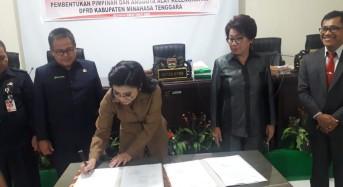 PDIP Sapu Bersih AKD DPRD Mitra