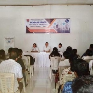 Sosialisasi KIM oleh Diskominfo di Minahasa Tenggara