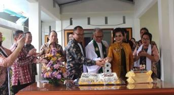 Di Perayaan HUT ke-8, Pastori Dua GMIM Gloria Tara-tara Ditahbiskan