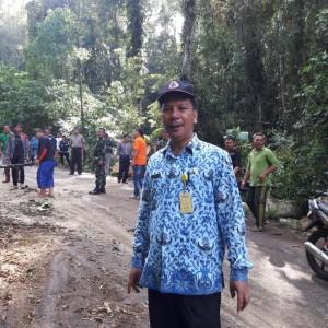 Ruas Jalan Woloan Tara-tara sudah bisa dilalui kendaraan