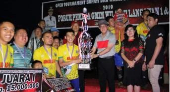 Kinaskas FC Jawara Bupati dan Wakil Bupati Minahasa Cup