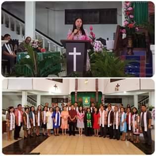 Ibadah Bersama Jemaat Dame Tosuraya, DLR Ucapakan Banyak Terima Kasih Buat Warga Minahasa Tenggara