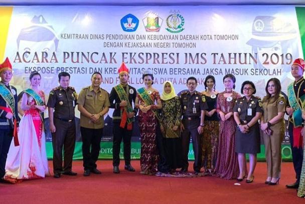 Duta Adhyaksa 2019 bersama Pemerintah Kota Tomohon dan Kejari Tomohon