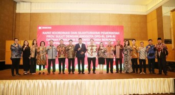 OD – SK Gelar Rakor Bersama Anggota DPR dan DPD RI Utusan Sulut