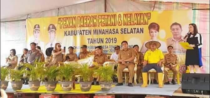 Pembukaan Pekan Daerah Tani dan Nelayan Minsel 2019 (ist)