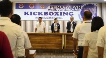 Persiapan Sea Games, Pengurus Kickboxing Sulut Gelar Panataran Wasit, Juri dan Pelatih