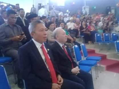 Wabup FDW Hadiri Rapat Paripurna Istimewa HUT Kota Bitung Ke-29