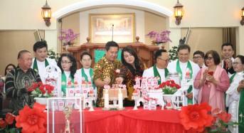 Wagub Kandouw Ibadah Bersama Jemaat GMIM Kalvari Pineleng