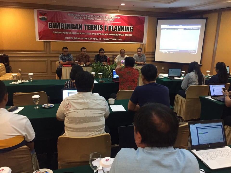 Bimtek e-planning Pemkab Mitra di Gran Puri Hotel