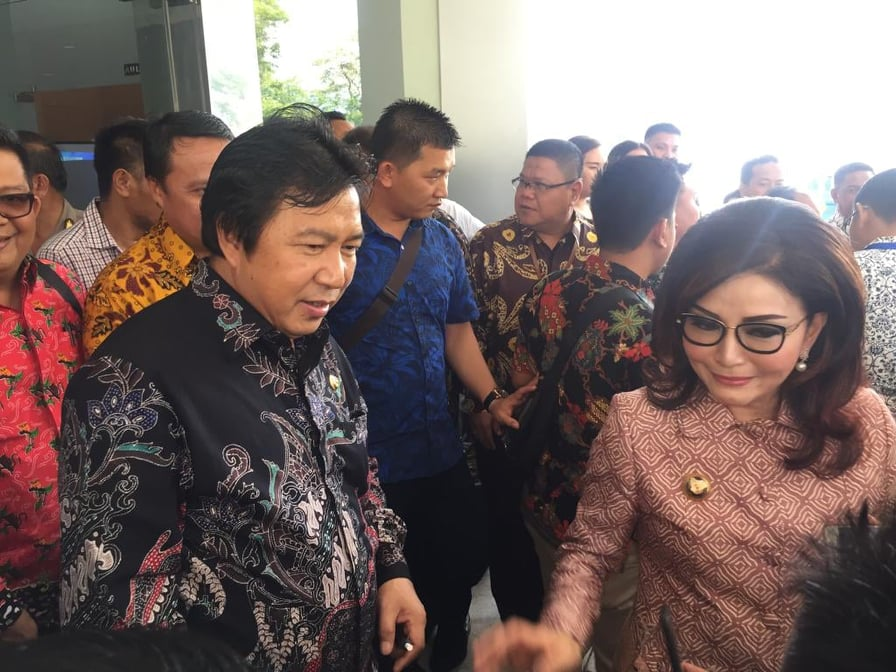 CEP dan James Sumendap saat berada di BPK Perwakilan Sulawesi Utara