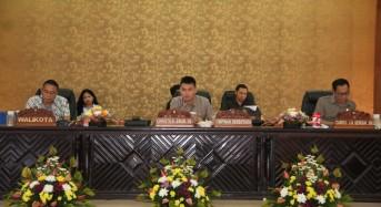 DPRD Tomohon Gelar Rapat Paripurna Pengumuman dan Penetapan Fraksi